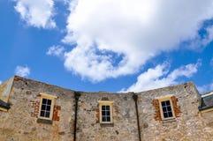 Das runde Haus: Drei Seiten Lizenzfreies Stockbild