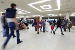 Das 2. russische informierende Forum der Robotik und der neuen Technologien am 2. Oktober 2016 in Ulyanovsk, Russland Stockfotografie