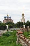 Das Ryazan Kremlin lizenzfreies stockbild