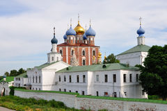 Das Ryazan Kremlin, Russland Lizenzfreies Stockbild