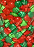 Das Süßigkeits-Glas Stockbild