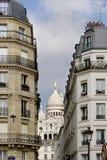 Das Sacre Coeur in Paris, Frankreich Stockbilder
