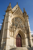 Das Sainte-Chapelle (heilige Kapelle) stockfotografie