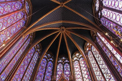 Das Sainte-Chapelle, Paris Stockfotografie
