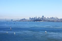 Das San Francisco Bay, Stockfotos