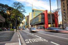 Das Sao Paulo Museum der Kunst Lizenzfreie Stockbilder