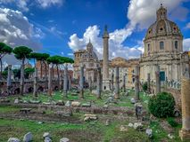 Das schön bezaubernde Rom Italien stockbilder