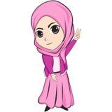 Das schöne Hijabers Stockbild