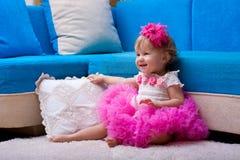 Das schöne kleine Mädchen, Stockfotos
