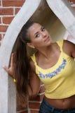 Das schöne Mädchen Lizenzfreies Stockfoto