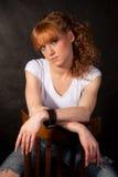 Das schöne Mädchen Lizenzfreie Stockfotografie