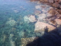 Das schöne Meer Stockfoto