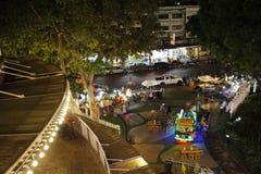 Das schöne nightview in Thailand Stockfotos