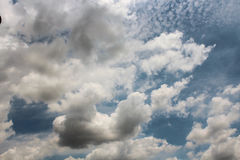 Das schöne von Kunst ` s Wolke Lizenzfreie Stockfotos