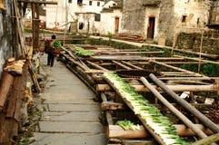 Das schönste Dorf in China Lizenzfreie Stockfotografie
