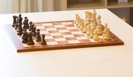 Das Schachbrett lizenzfreie stockfotos