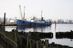 Das Schiff stockfotos