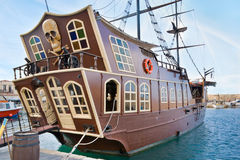 Das Schiffsheck Stockfotos