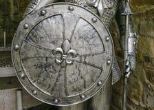 Das Schild des Ritters Stockfotos