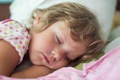 Das schlafende Kind Lizenzfreie Stockfotos