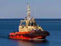 Das Schlepperschiff Lizenzfreies Stockfoto