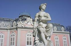 Das Schloss Benrath in Dusseldorf in Deutschland Lizenzfreie Stockfotografie