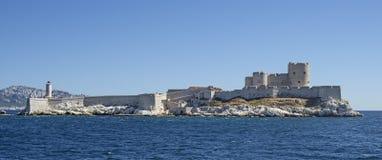 Das Schloss Chateau dIf nahe Marseille in Frankreich Stockbilder