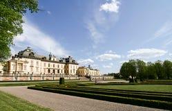 Das Schloss Drottningholm. Lizenzfreie Stockfotos