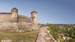Das Schloss Kamenetz-Podolsk, Ukraine lizenzfreie stockfotografie