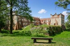 Das Schloss in Krupe Lizenzfreies Stockbild