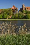 Das Schloss Malbork lizenzfreies stockfoto