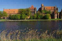 Das Schloss Malbork Stockfoto
