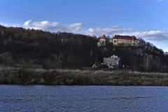 Das Schloss nahe Pshezhozalah Stockbild