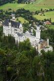 Das Schloss Neuschwanstein stockbilder