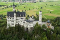 Das Schloss Neuschwanstein stockfoto