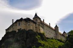 Das Schloss Rosenburg in Niederösterreich stockbilder