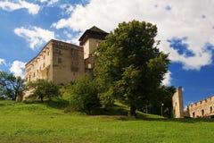 Das Schloss Trencin stockbilder