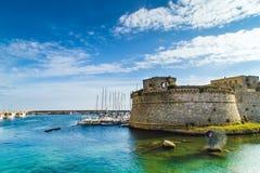 Das Schloss und das Meer Lizenzfreies Stockbild
