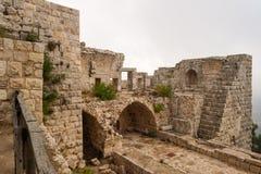Das Schloss von Ajloun Lizenzfreies Stockbild