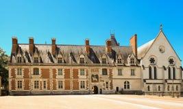 Das Schloss von Blois im Loire Valley - dem Frankreich Lizenzfreies Stockbild