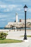 Das Schloss von EL Morro, ein Symbol von Havana Stockfoto