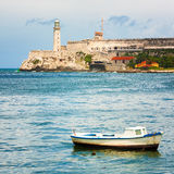 Das Schloss von EL Morro in Havana stockfotografie