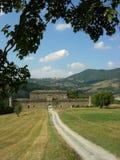 Das Schloss von Golaso Stockfotos