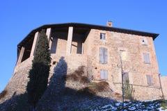 Das Schloss von Levizzano Stockbilder