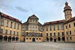 Das Schloss von Nesvizh, Belarus Lizenzfreies Stockbild