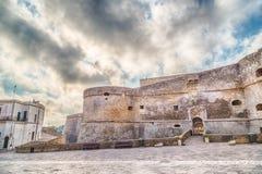 Das Schloss von Otranto Stockfotografie