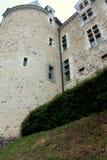 Das Schloss von Sainte Suzanne lizenzfreies stockfoto