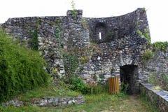 Das Schloss von Sainte Suzanne lizenzfreie stockfotos