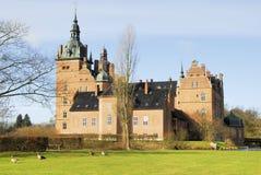 Das Schloss von Valloe Stockfoto