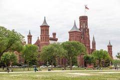 Das Schloss-Washington DC Lizenzfreies Stockfoto